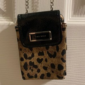 Nine West crossbody cell phone case and wallet
